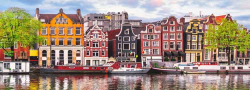 Donde alojarse en Amsterdam