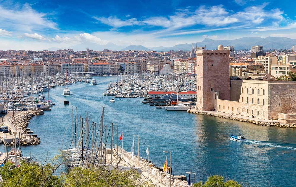 Mejor zona donde alojarse en Marsella