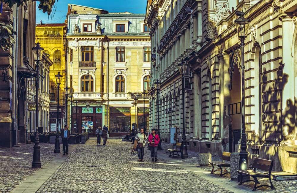 Mejores zonas y hoteles en Bucarest